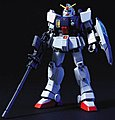 79 RX-79 Gundam Ground Type HG -- Snap Together Plastic Model Figure -- #149833