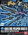 07 AMAZING WEAPON BINDER HG -- Snap Together Plastic Model Figure -- #185180