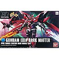 13 GUNDAM EXIA DARK MATTER HG -- Snap Together Plastic Model Figure -- #186524