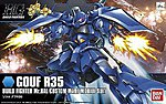 15 GOUF R35 BANDAI BUILD FIGHT -- Snap Together Plastic Model Figure -- #189578