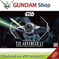 Tie Advanced X1 Star Wars -- Snap Tite Plastic Model Figure -- 1/72 Scale -- #191407