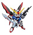 SD Gundam Ex-Standard Destiny Gundam -- Snap Together Plastic Model Figure -- #207854