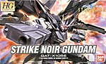 Snap #41 Strike Noir Gundam -- Snap Together Plastic Model Figure -- 1/144 Scale -- #143424