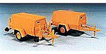 Compressor Trailer - 160PSI Polyurethane Kit -- O Scale Model Railroad Vehicle -- #249