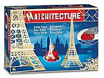 Eiffel Tower (Paris, France) (1150pcs) -- Wooden Construction Kit -- #6611