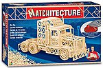 Big Rig Tractor Cab (2000pcs) -- Wooden Construction Kit -- #6622