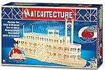 Mississippi Paddlewheel Boat (4500pcs) -- Wooden Construction Kit -- #6630