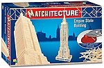 Empire State Building (New York, USA) (650pcs) -- Wooden Construction Kit -- #6647