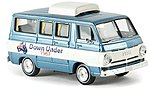 1964 Dodge A 100 Van Assembled Australian Trip -- Model Railroad Vehicle -- HO Scale -- #34317