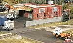 Chain Link Fence - 6'High/250 Scale Feet Long -- N Scale Model Railroad Building Accessory -- #710