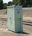 Grade Crossing Electronics Box -- N Scale Model Railroad Trackside Accessory -- #89