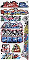 Graffiti Decals Mega #14 -- N Scale Model Railroad Decal -- #1263