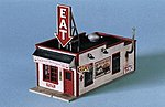 Fred & Red's Hamburgers Kit -- HO Scale Model Railroad Building -- #190