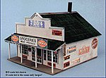 Blairstown General Store -- O Scale Model Railroad Building -- #280