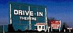 Drive-In Theatre Kit -- HO Scale Model Railroad Building -- #168