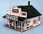 Blairstown General Store Building Kit -- HO Scale Model Railroad Building -- #180