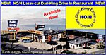 Drive-In Restaurant Kit -- HO Scale Model Railroad Building -- #182