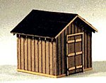 Coal Storage House Kit -- HO Scale Model Railroad Building -- #183