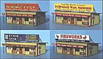 Roadside Tourist Trap Building Kit -- N Scale Model Railroad Building -- #70