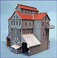 Cash Mine Works Building Kit -- N Scale Model Railroad Building -- #86