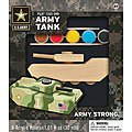 Army Tank -- Wooden Construction Kit -- #21524