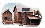 Oakleaf Shipping & Storage - Kit -- HO Scale Model Railroad Building -- #182