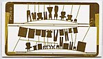 Laundry Lines - Kit -- HO Scale Model Railroad Building Accessory -- #49
