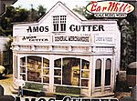 Amos Cutter General Merchandise - Kit -- O Scale Model Railroad Building -- #504