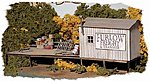 Furlow Freight & Transfer - Kit -- HO Scale Model Railroad Building -- #712