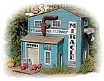 Miracle Chair Company - Kit -- HO Scale Model Railroad Building -- #732