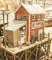 Waterfront Willy's/Trackside Jack's - Kit -- N Scale Model Railroad Building -- #921