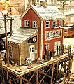 Waterfront Willy's/Trackside Jack's - Kit -- HO Scale Model Railroad Building -- #922