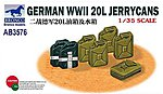 German WWII 20L Jerrycans -- Plastic Model Military Diorama -- 1/35 Scale -- #3576