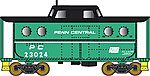 PRR Class N5C Steel Cabin Car Penn Central #23065 -- N Scale Model Train Freight Car -- #37807