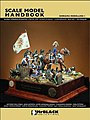 Scale Model Handbook- Diorama Modelling Vol.1 -- Detailing Model Figure Book -- #d1