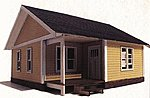 Laser Art Structure Kits - Thelma Catalog Home -- O Scale Model Railroad Building -- #419
