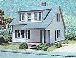 The Lasalle House Laser-Art Kit -- HO Scale Model Railroad Building -- #629