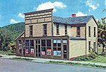 Commercial Buildings Roscoe Store Kit (6 x 6-1/2 x 6'') -- HO Scale Model Railroad Building -- #643