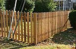 Gothic Picket Fence Laser-Cut Wood Kit -- HO Scale Model Railroad Building Accessory -- #707