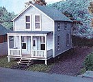 The Finley House Laser Art Kit -- N Scale Model Railroad Building -- #825