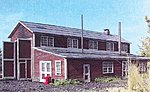 1-Stall Engine House Laser Art Kit -- N Scale Model Railroad Building -- #883