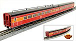 SP Coast Daylight Train #98 Articulated Chair Car -- HO Scale Model Train Passenger Car -- #1571