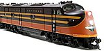 EMD E-6A Illinois Central 4002 with sound -- HO Scale Model Train Diesel Locomotive -- #2339