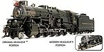 Pennsylvania RR 11sa 2-10-0 4243 with sound -- HO Scale Model Train Steam Locomotive -- #2483