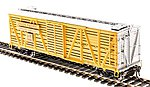 Stock Car Union Pacific with Sheep Sound -- HO Scale Model Train Freight Car -- #4581