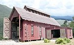 McCabe's Engine House -- O Scale Model Railroad Building -- #17450