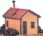 Clegg's Cabin -- O Scale Model Railroad Building -- #17470