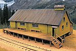 West Side Lumber Co. Reynolds Cook House - Kit -- O Scale Model Railroad Building -- #17475