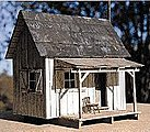 Cabin Creek Series - Greely's Place - 2-3/16 x 2-3/8'' -- HO Scale Model Railroad Building -- #27227