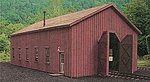 Car Repair Shop - Standard Gauge Kit -- HO Scale Model Railroad Building -- #27486